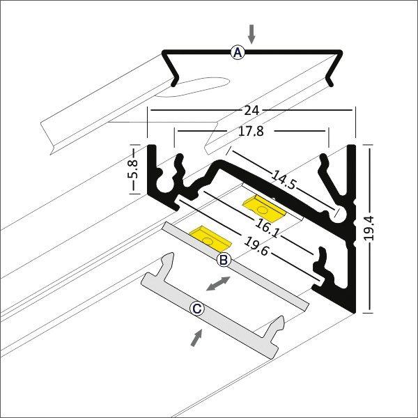 Corner - K01-1060-2M