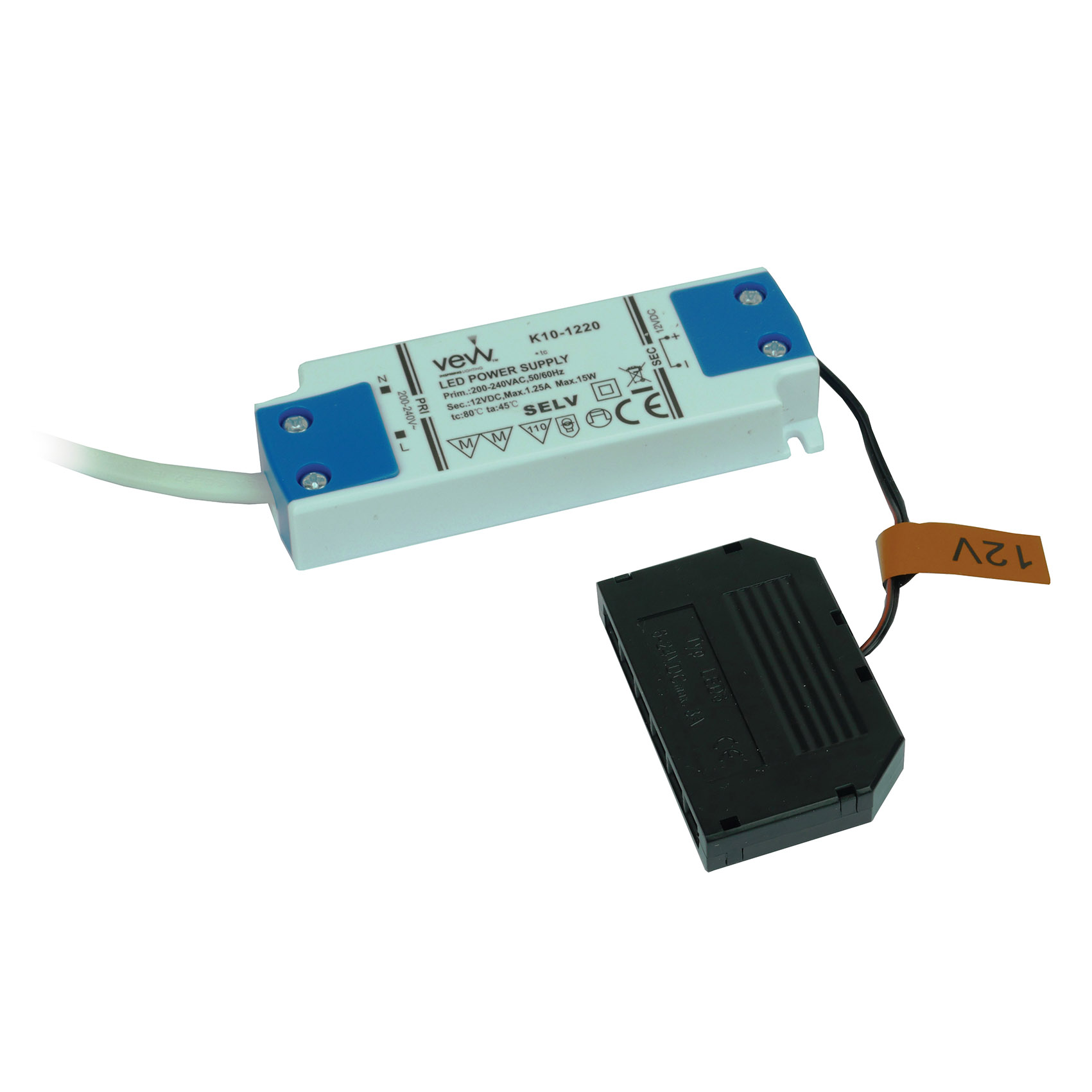 Driver 15w 12v LED Driver 15w For Single Colour, CCT & RGB Controllers