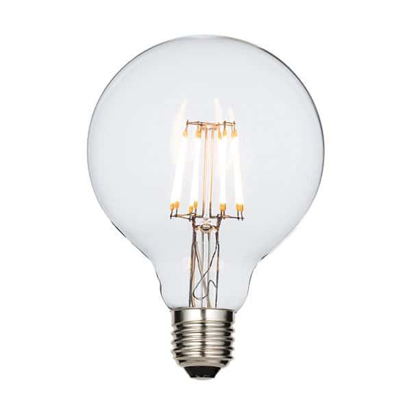 GLOBE 7W LED FILAMENT ES 125MM