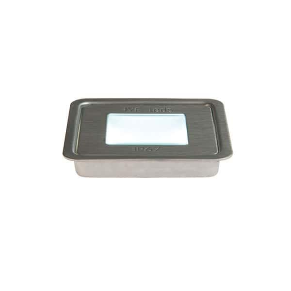 Eyeleds® FLOORLEDS MULTI SQUARE SINGLE LINKABLE LED UNIT – 1 X 0.6W STAINLESS STEEL
