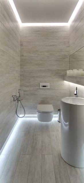 Small bathroom LED Lighting