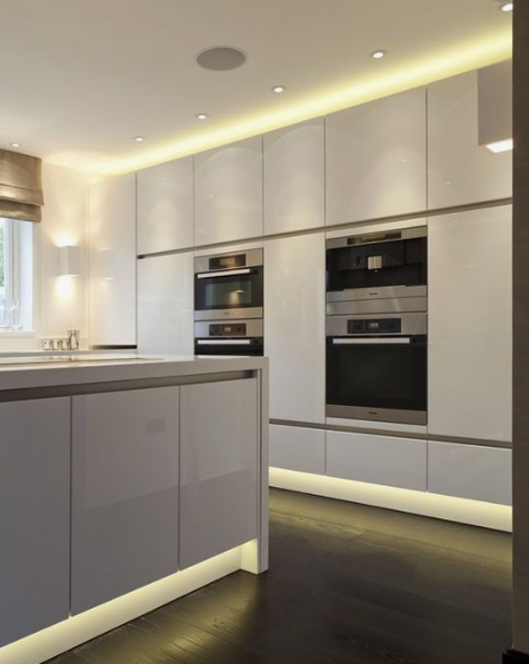 kitchen ambient lighting. Which Areas In A Kitchen Would Be Considered Ambient Lighting? Lighting I