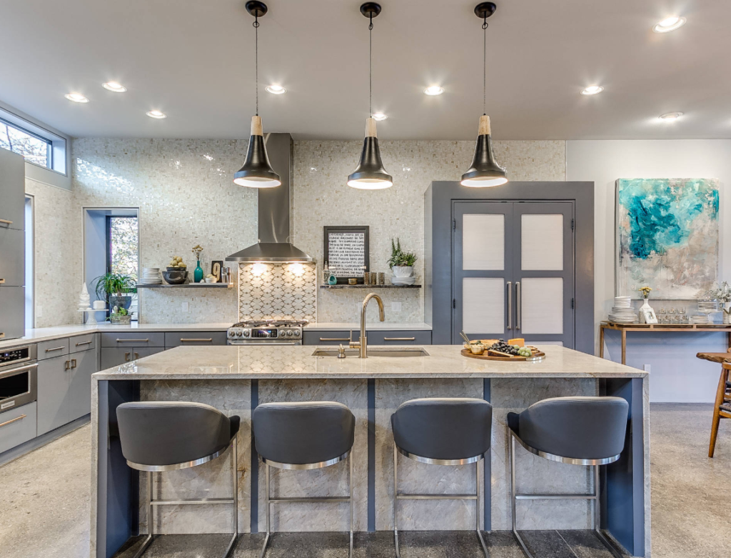 Bright and effective kitchen lighting