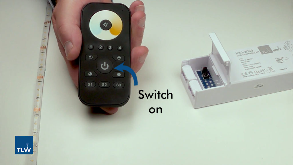 Syncing LED tape to a remote control | TLW | The Lightworks