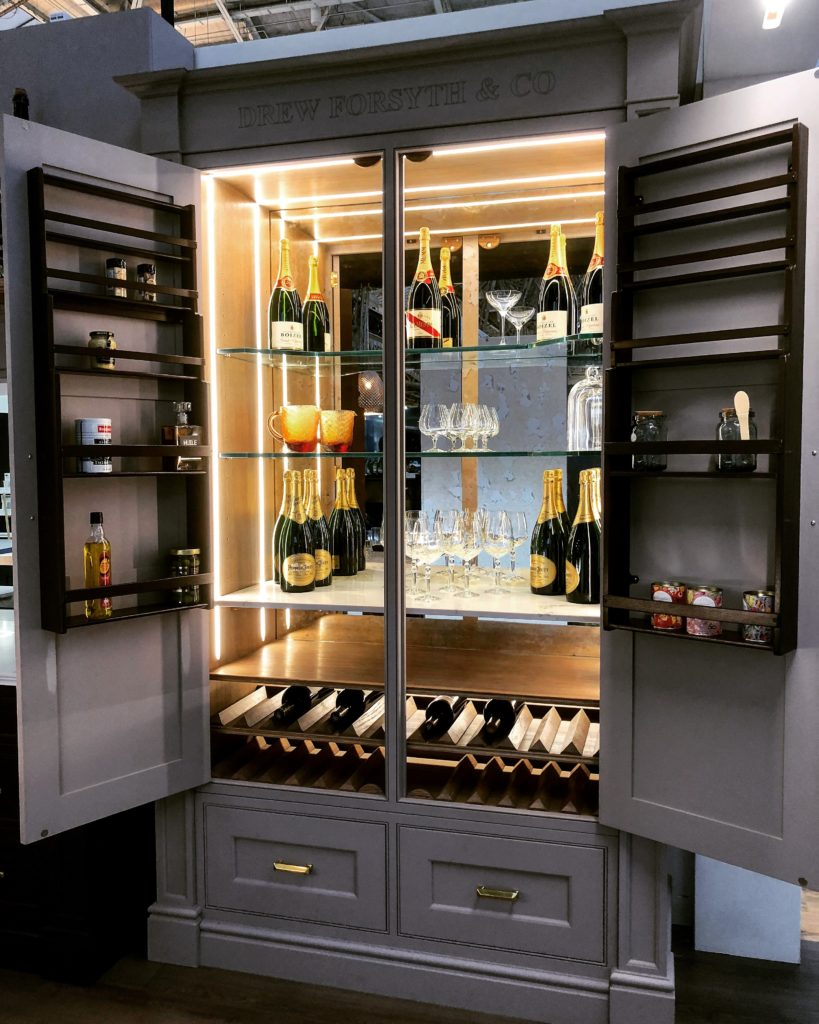 Bright in cabinet lighting from TLW