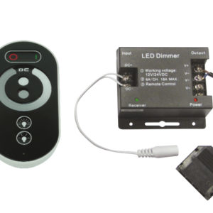 SET SINGLE LED REMOTE DIMMER & CONTROLLER FOR SINGLE COLOUR
