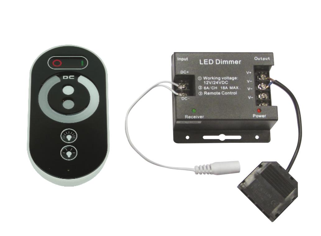 Set Single Led Remote Dimmer Controller For Colour
