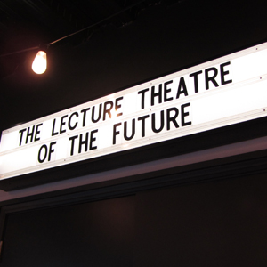 Exclusive events at The lecture theatre