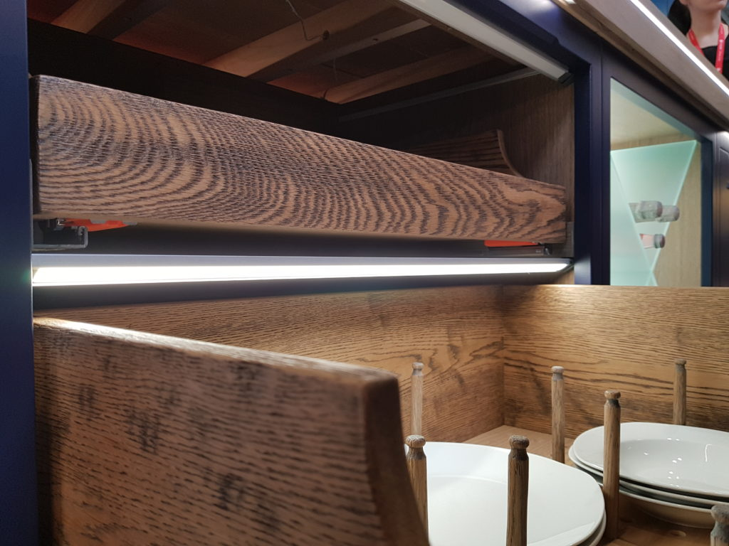 deep drawer lighting with sensor from TLW