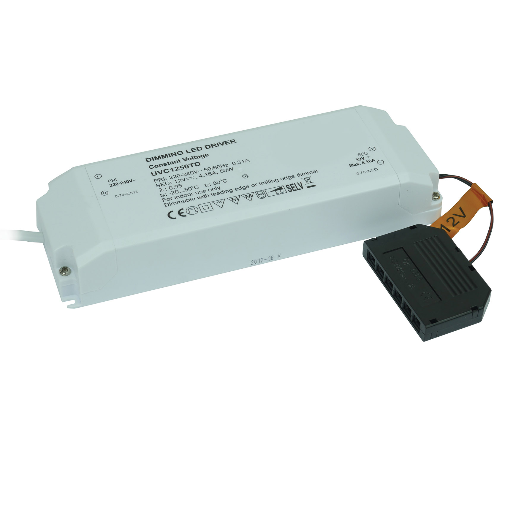 Dimming Driver 50w 12v LED Triac Dimmable Driver 50w