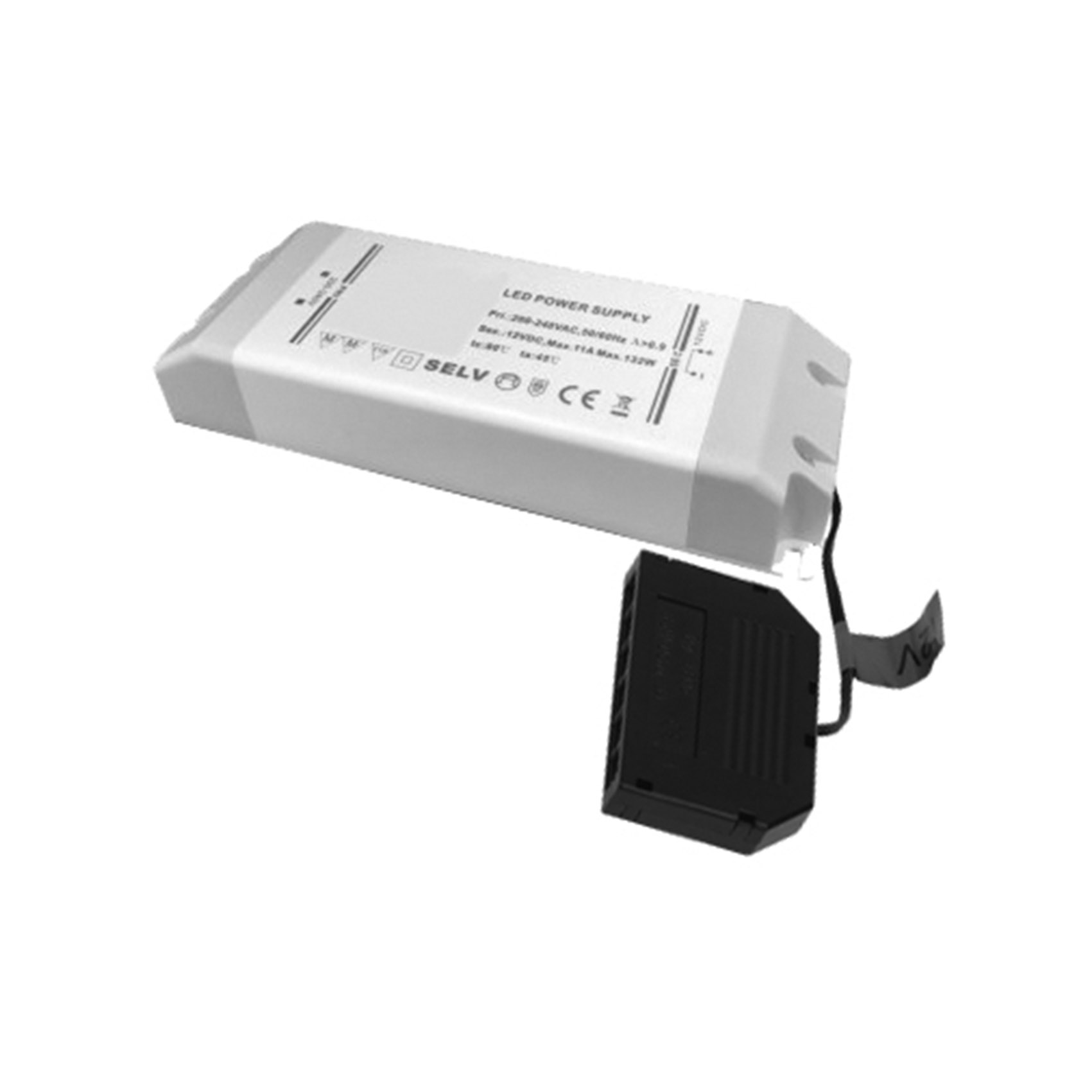 Driver 132w 12v LED Driver 132w For Single Colour, CCT, & RGB Controllers