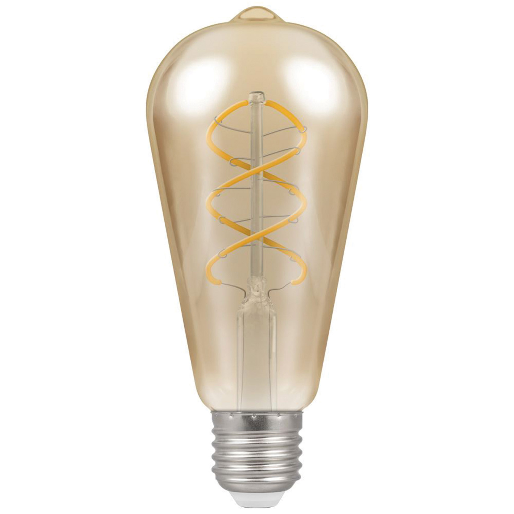 Pear Spiral Filament 6w LED E27