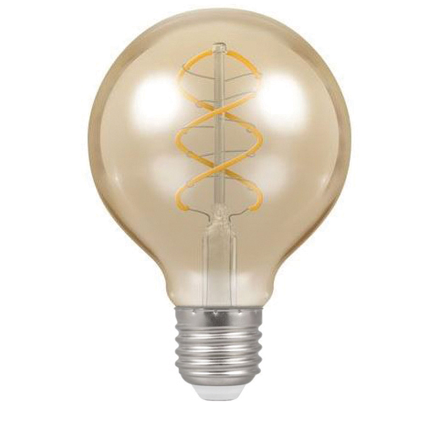 Globe Spiral Filament 6w LED E27