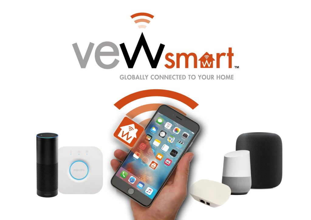 VEWsmart is a full smart system that works with all smart devices!
