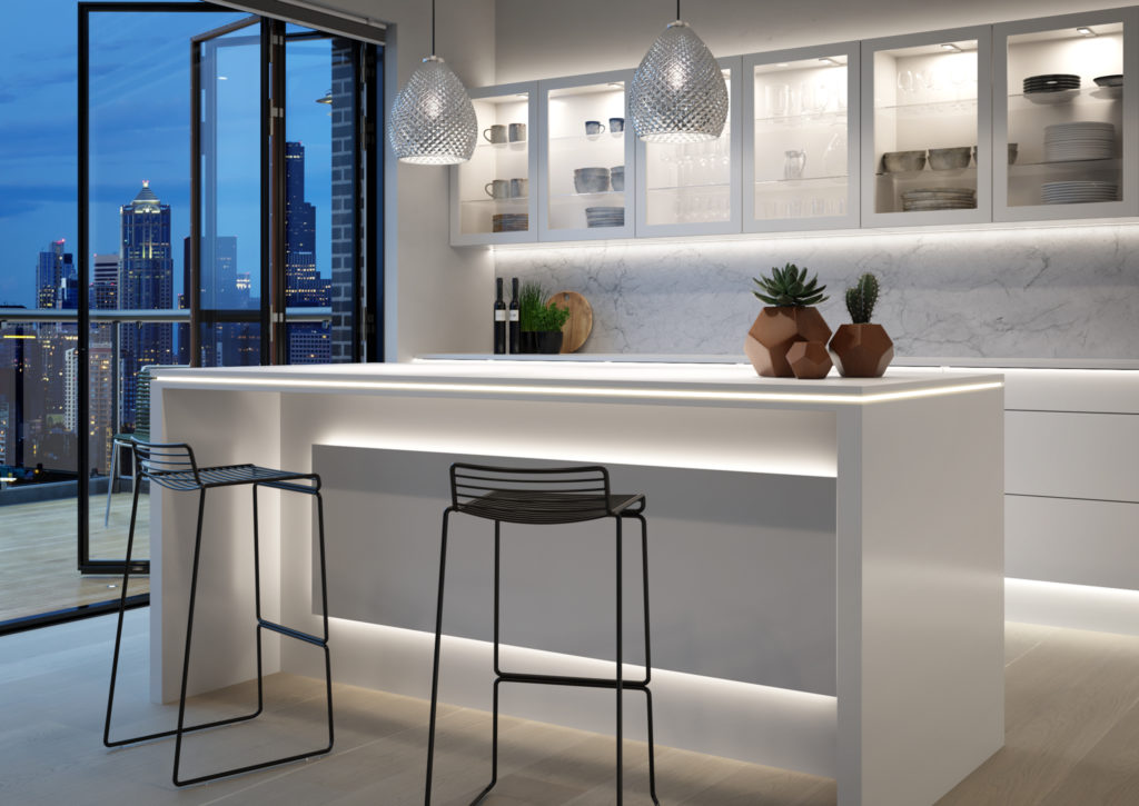 Modern kitchen pendants from TLW