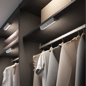 Wardrobe lighting solutions from TLW
